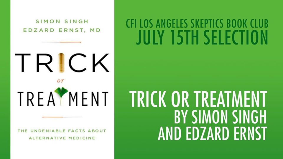 """""""Trick or Treatment"""" by Simon Singh and Edzard Ernst"""